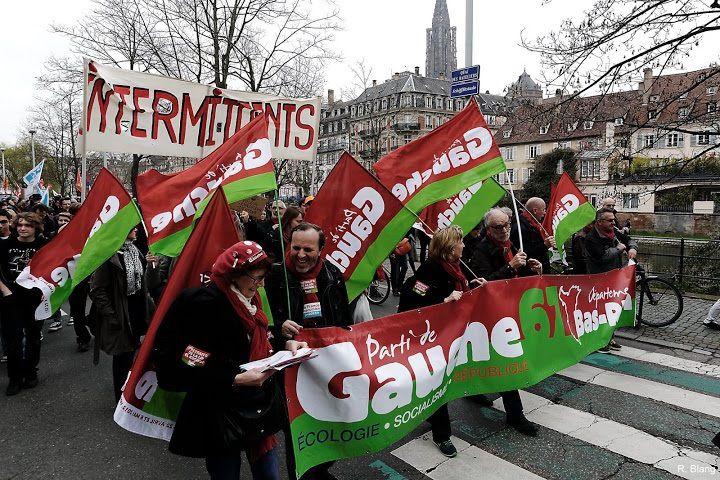 Près de 10 000 personnes à Strasbourg, contre la loi El Khomri !