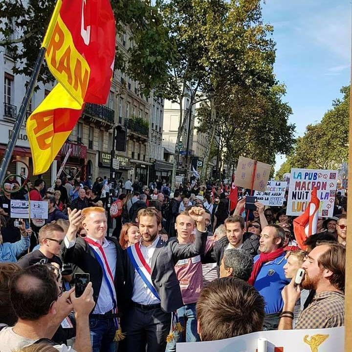 Une Dream Team France Insoumise, Paris-Bastille, 23 septembre