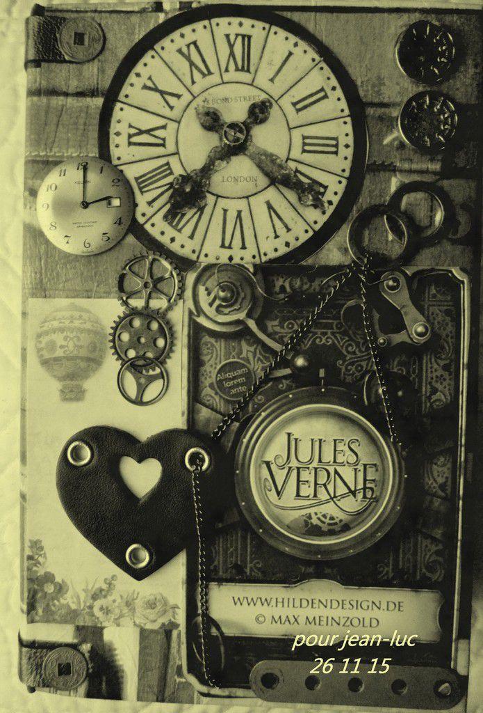 mes créations steampunk chez moi, à la rochelle ; je fais également des décos shabby chic et du dessin.