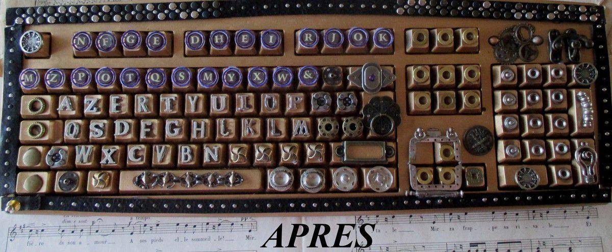 le clavier d'ordinateur de Jules Verne