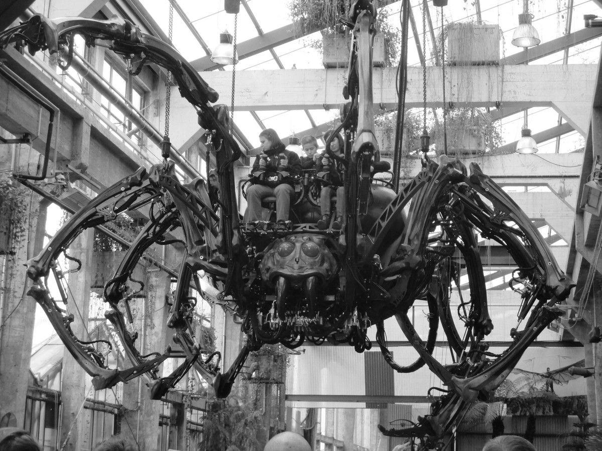 Les Machines de l'Ile à Nantes 26 04 16 :