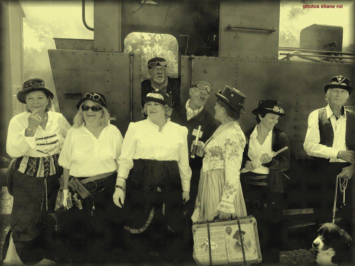 Voyage dans le passé -locomotive vapeur 26 juin 2016 -fichier 2