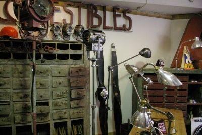 Le Style Industriel (photos Internet)