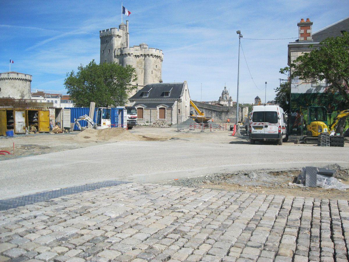 Travaux La Rochelle Port suite - 15 mai 2017