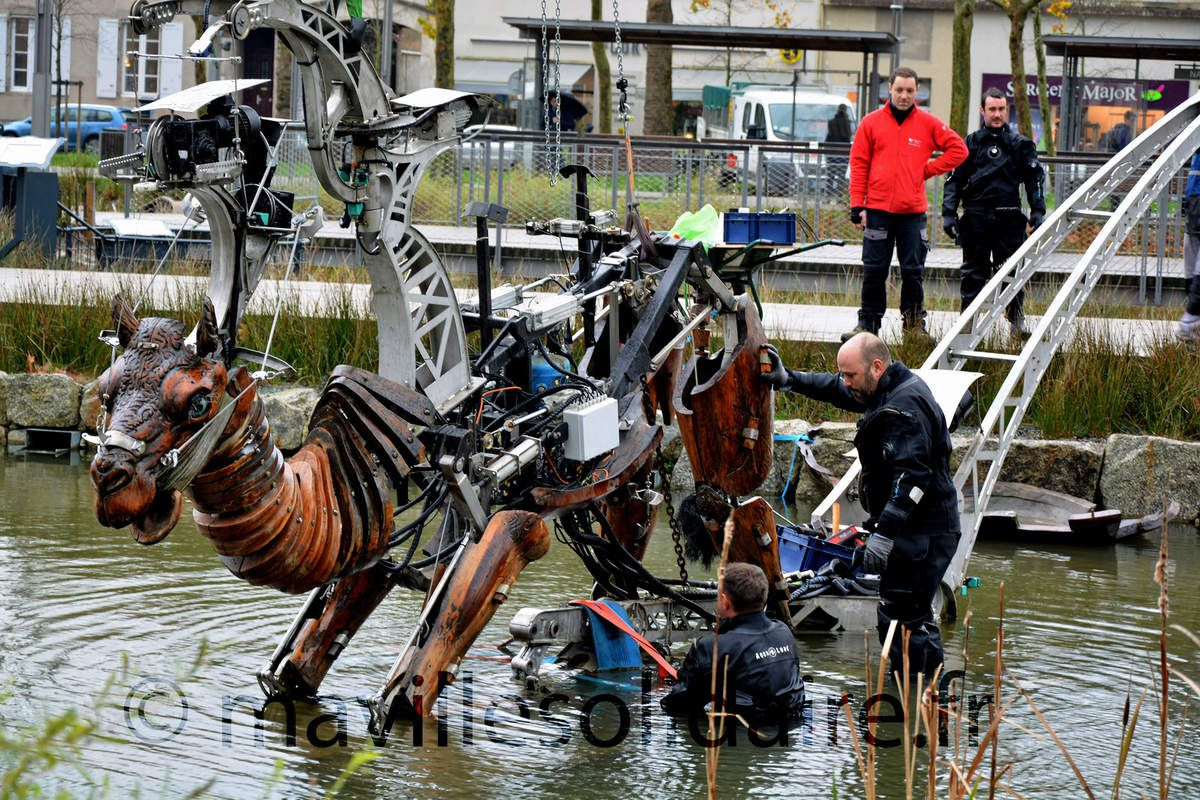 STEAMPUNK VENDEE - La Roche sur Yon - les Animaux de la place - photos Internet