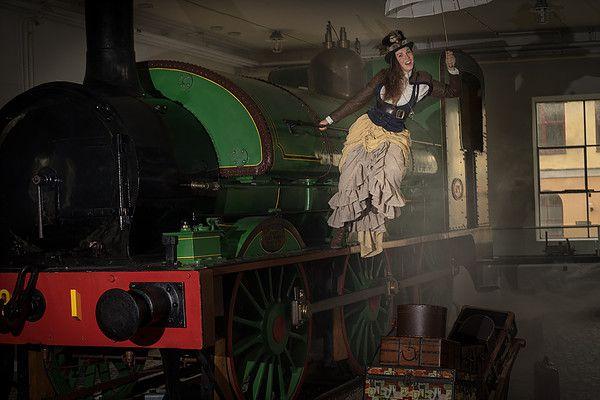 Magnifiques photos aux steamers nordiques &#x3B; belle convention !
