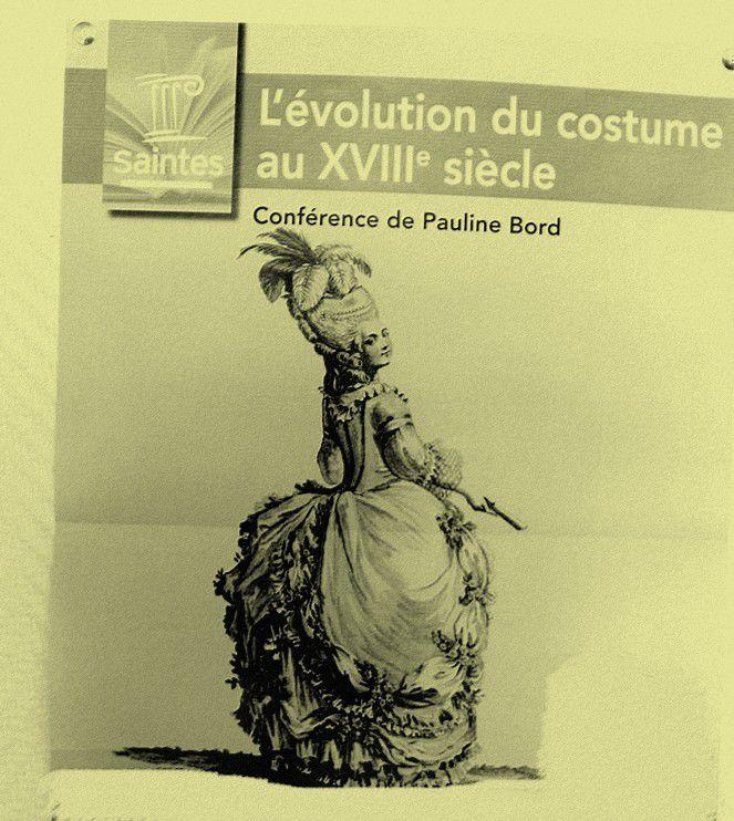 Bravo aux petites mains qui confectionnent ces beaux costumes historiques pour notre plus grand plaisir !