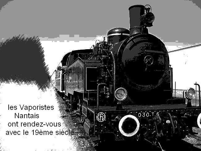 Salut les Nantais ! (locomotive vapeur Mortagne sur Sèvre)