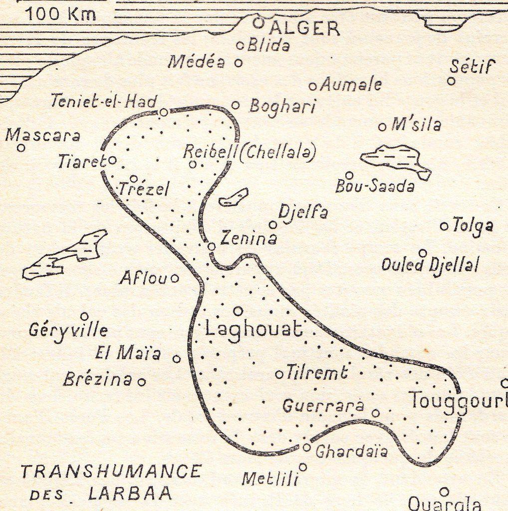 Transhumance des Larbaa, Emile Dermenghem, Le pays d'Abel, Gallimard, 1960, page 151.