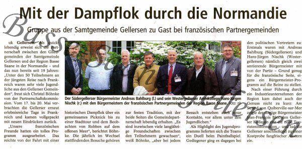 Heute Morgen &#x3B; Landeszeitung du 8 Juin 2012