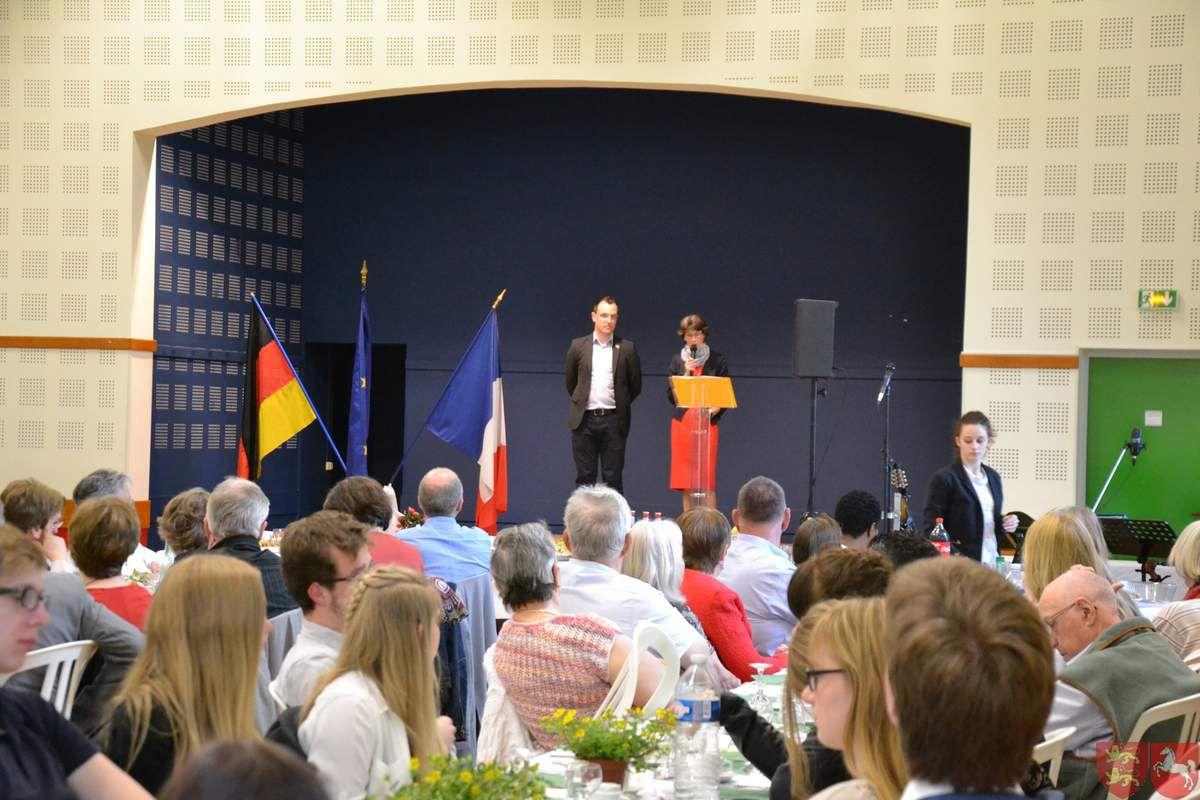 Réception de la délégation allemande - 5 au 8 Mai 2016