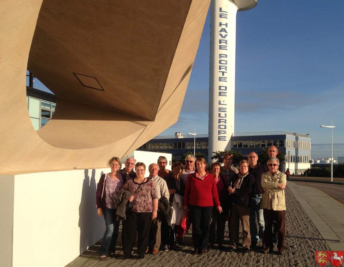 Visite de l'exposition &quot&#x3B;Pissaro et les ports&quot&#x3B; au Havre Samedi 21 Septembre 2013