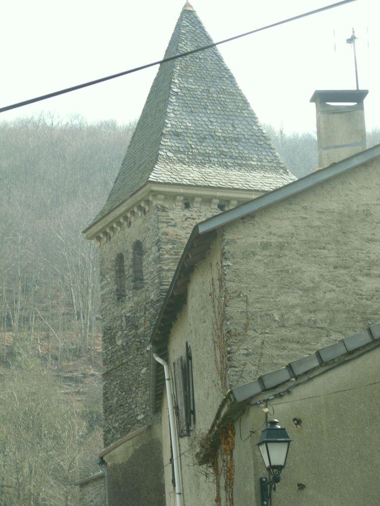 L'église de Caudebronde