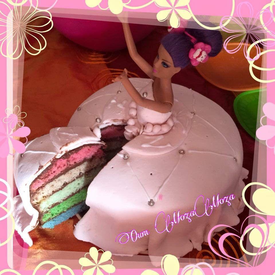 Gâteau princesse pour les 8 ans de ma fille Zahra