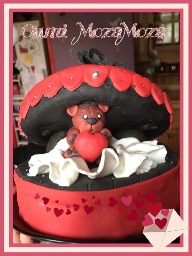 Gâteau Saint Valentin 2016