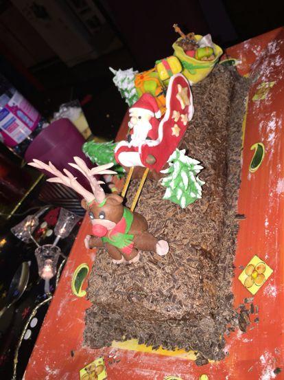 Gateau de Noël 2015