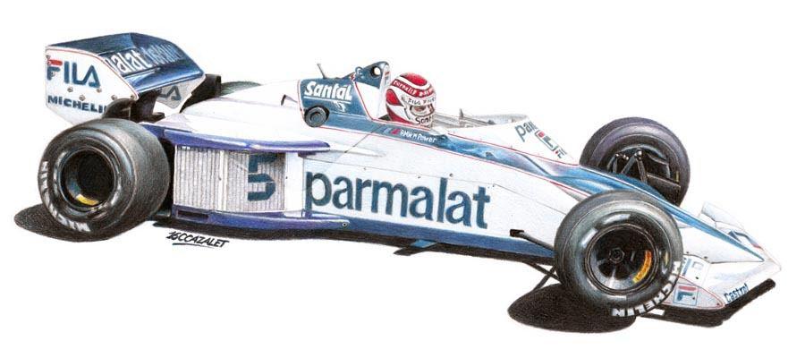 Nelson Piquet - Brabham BT52