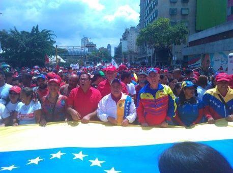 Venezuela : Les candidats à l'Assemblée Nationale Constituante remettent leurs papiers au Conseil National Electoral