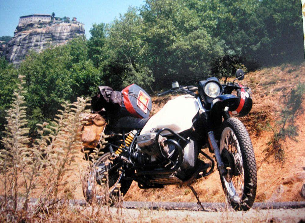BMW 80G/S - Grèce - Les météores - 1988