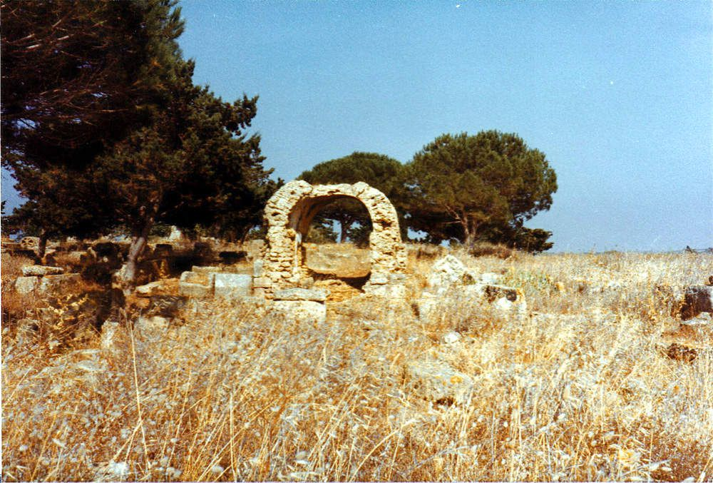Ruines romaines de Tipaza (Photos juillet aout 81)
