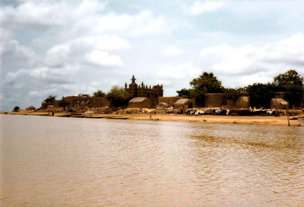 Mopti : Le fleuve Niger dans les années 80