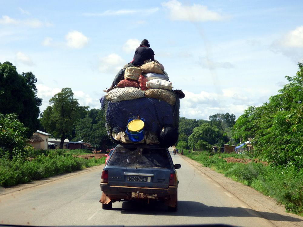 En Guinée entre Siguiri et Bamako Aout 2016