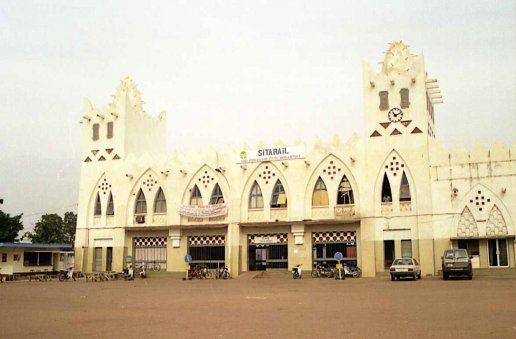 La gare de Bobo Dioulasso