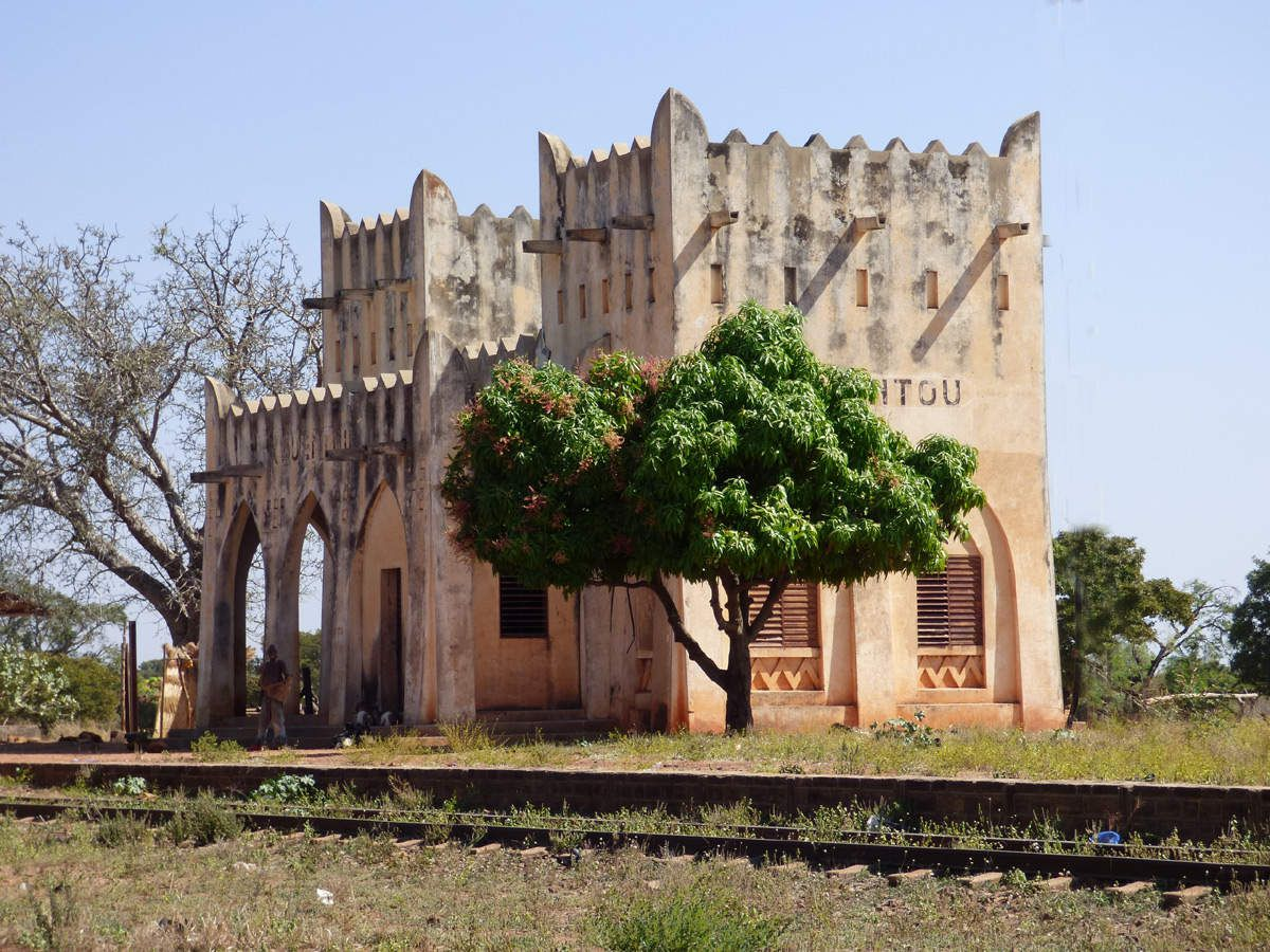 Gare de Kwentou située entre Bobo Dioulasso et Dédougou