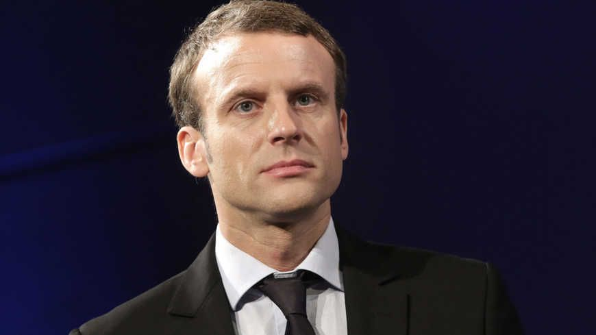 Le ministre de l'économie, Emanuel Macron