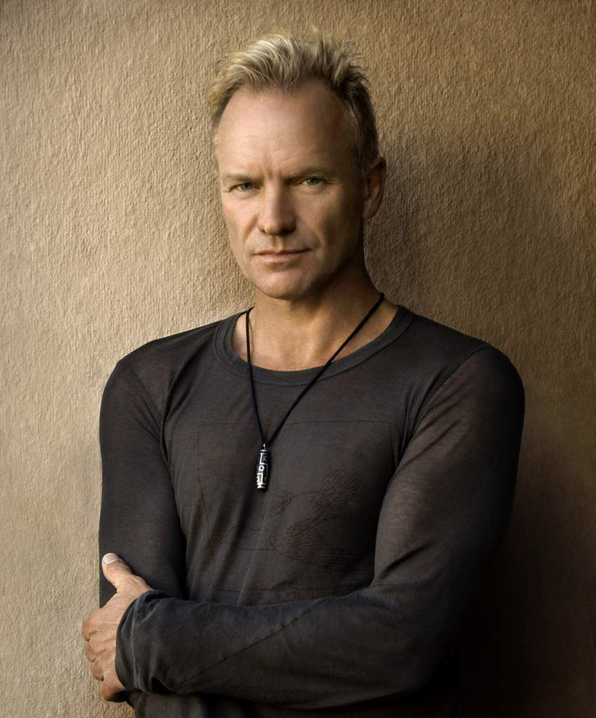 Sting, le chanteur.
