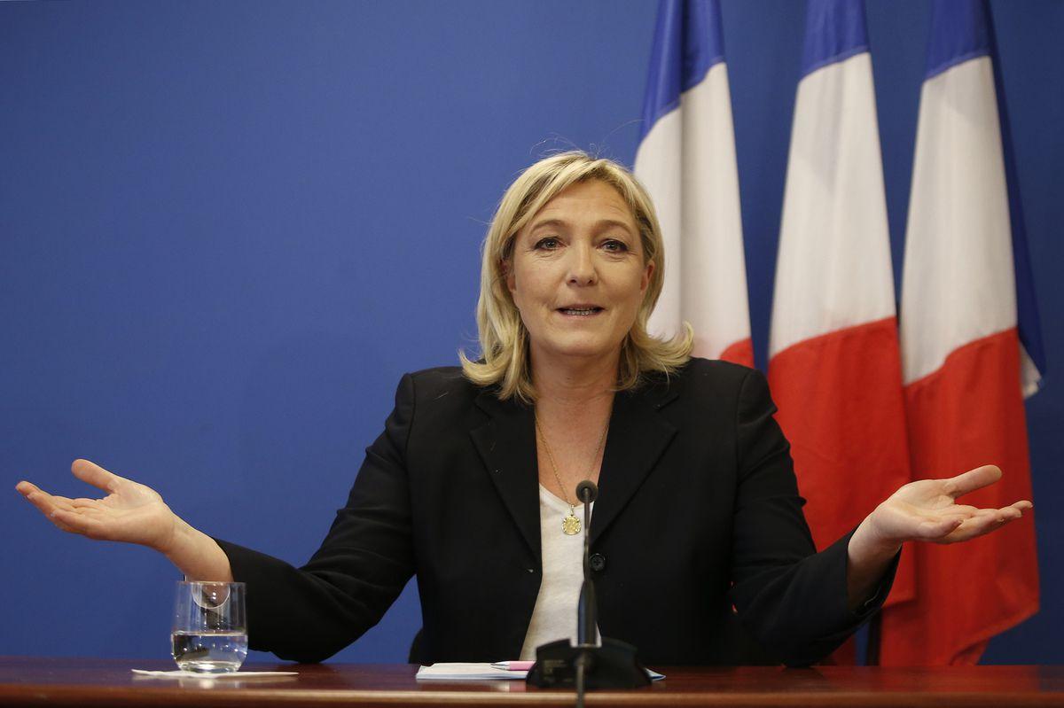 Marine Le Pen, la candidate concernée.