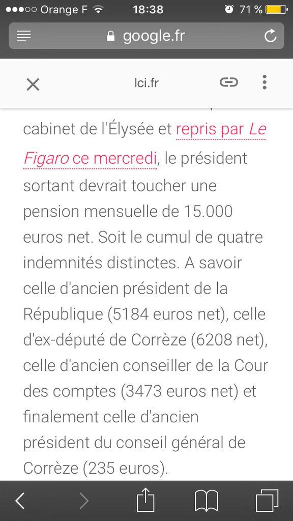 Présidentielles: quelle retraite pour Hollande ?