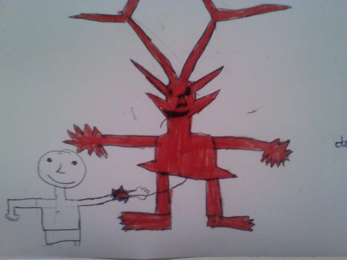(1)Prendre ses jambes à son cou. Laïla ,6ème.(2)Tirer le diable par la queue. Nasser, 6ème(3)S'arracher les cheveux. Mariam,6ème