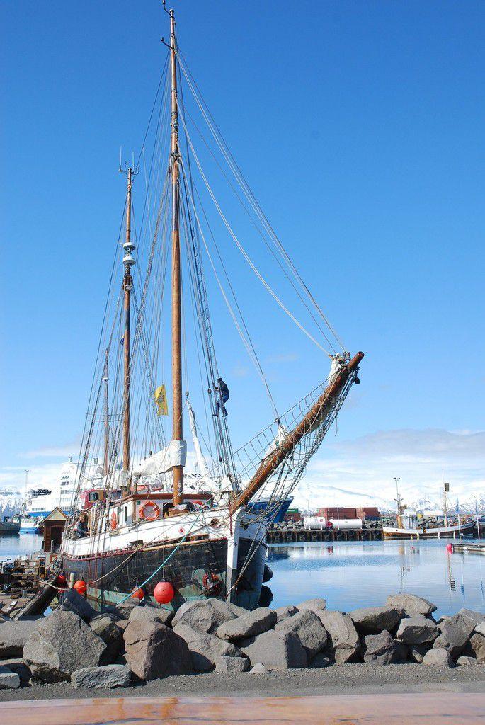 Je vous remets quelques photos d'Husavik, j'ai adoré ce petit port de pêche !