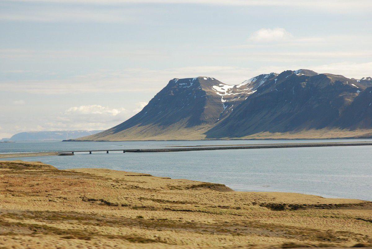 La péninsule de Snaefelleness...