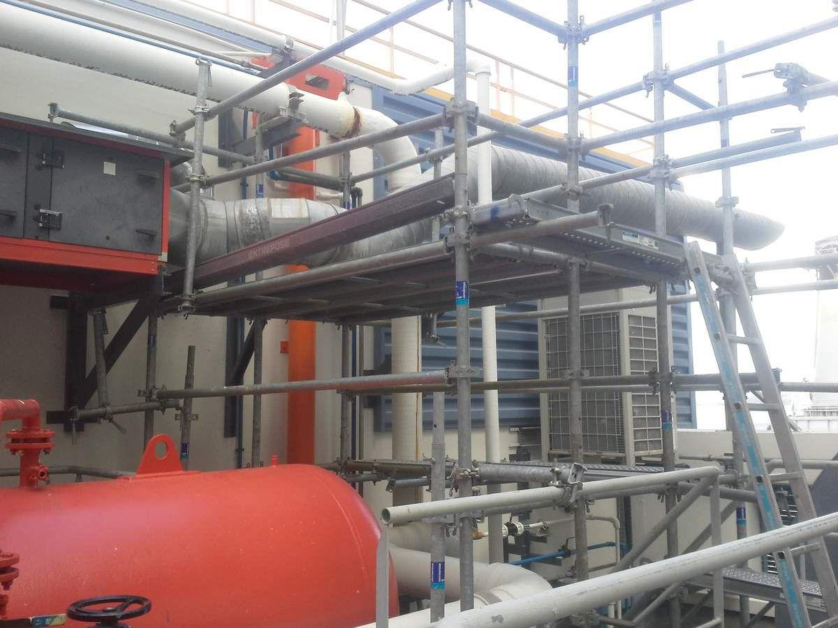 EDF pointes des Carrières...Un terrain d'entrainement à l'industrie!
