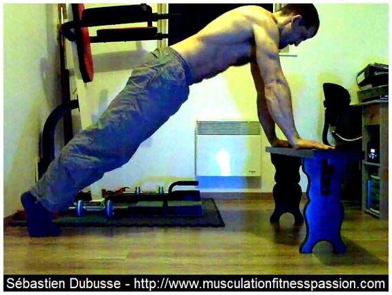 Les pompes pour l'échauffement et la finition, Sébastien Dubusse, blog musculationfitnesspassion