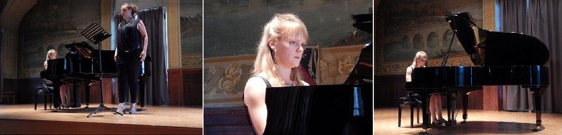 Floriane, accompagnée par Olga Kirpicheva