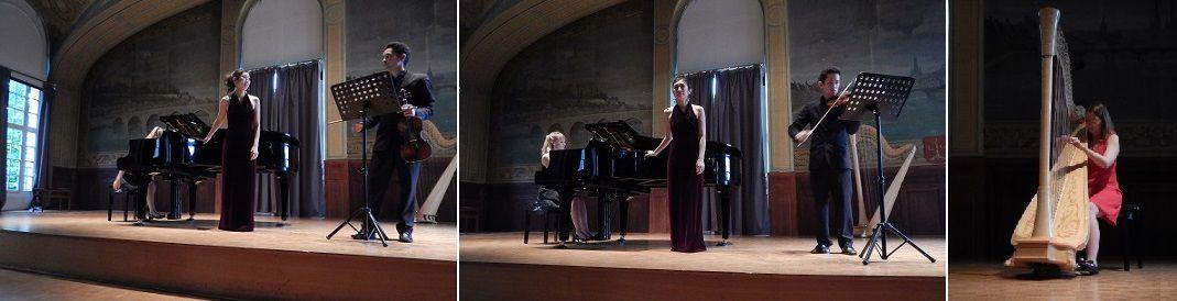Eri Tanaka et à la Harpe par Gabriella Garcia