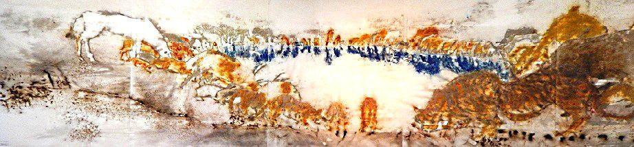 Evocation des peintures rupestres