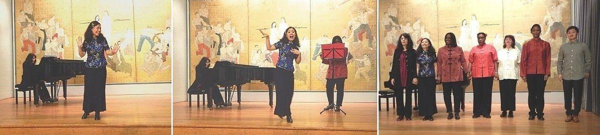 Le groupe des Mélodies Chinoises