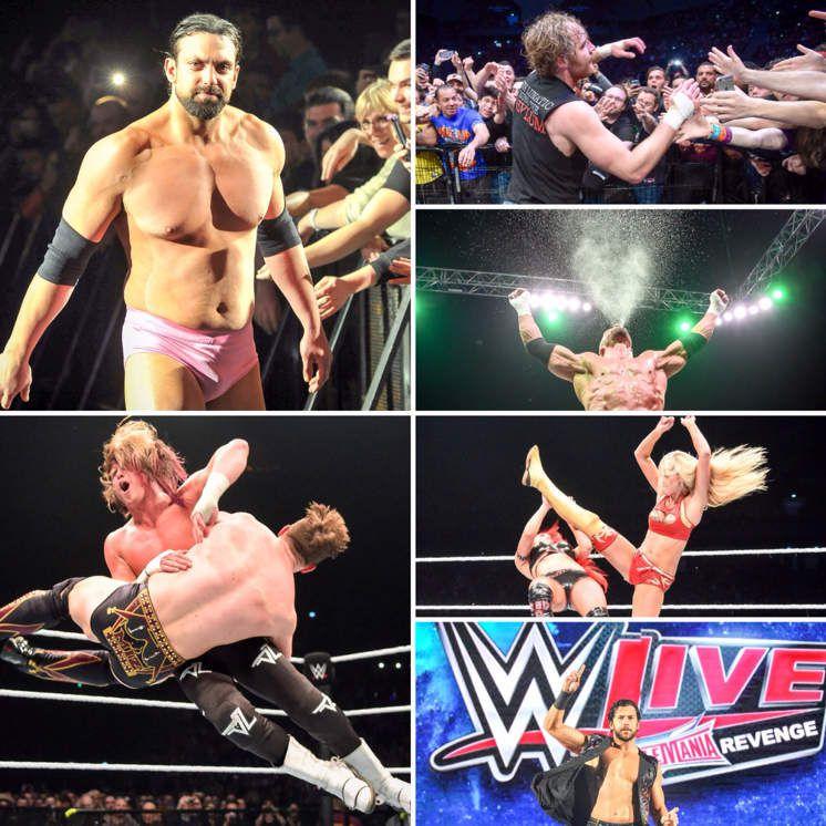 WWE LIVE REVENGE à l'AccorHotels Arena !