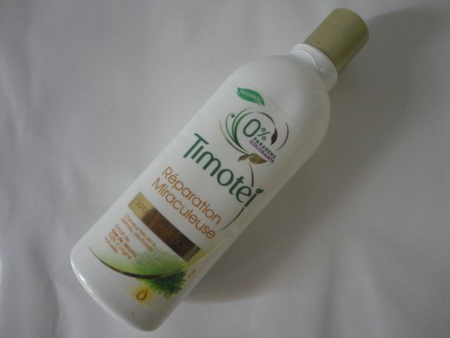 Après shampooing Timotei reparation miraculeuse