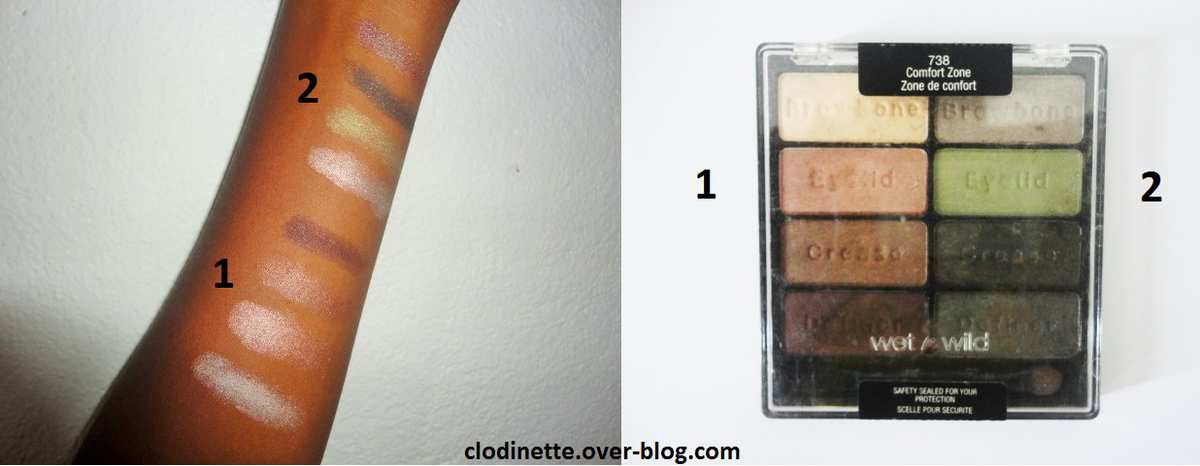 swatch wet n wild coloricon comfort zone