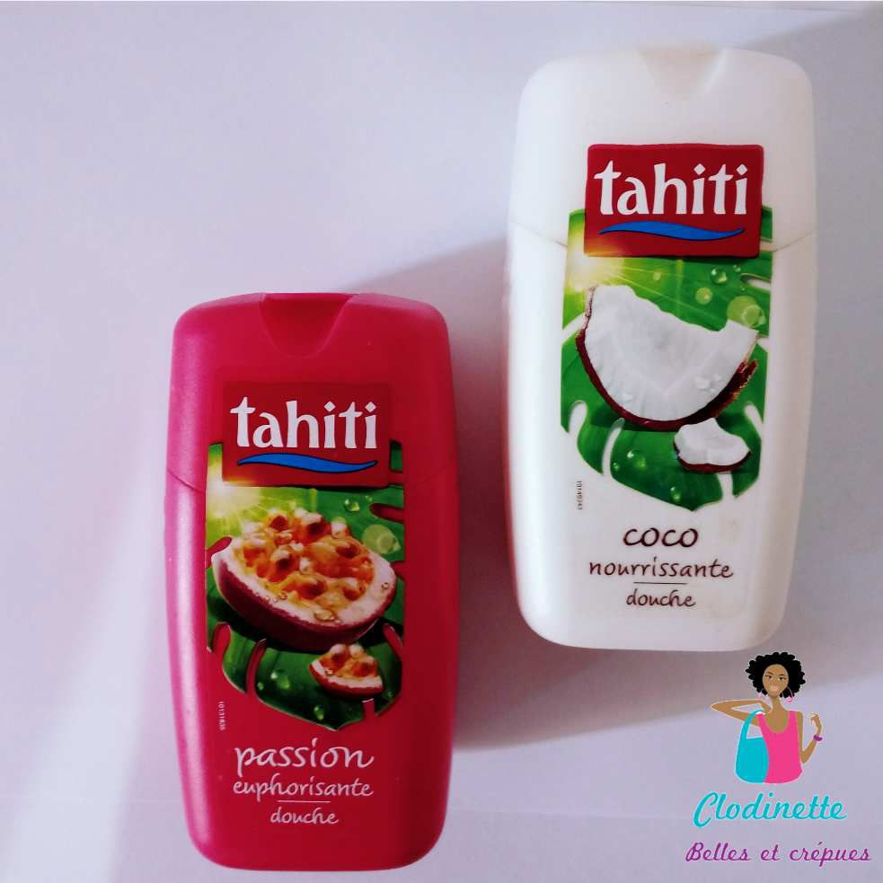 Gels douche TAHITI fruit de la passion & coco