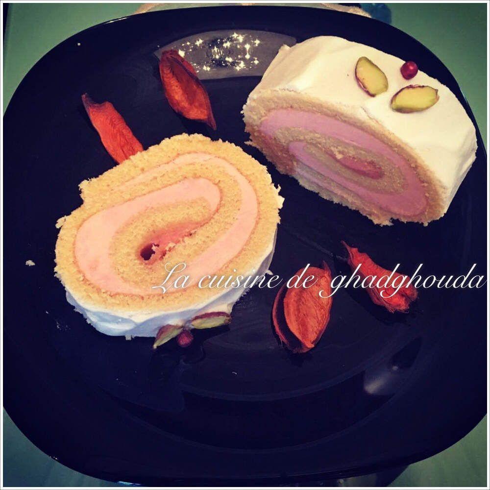 �Gâteau roulé a la vanilles �
