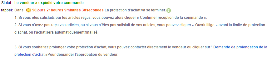 Toujours suivre sa protection
