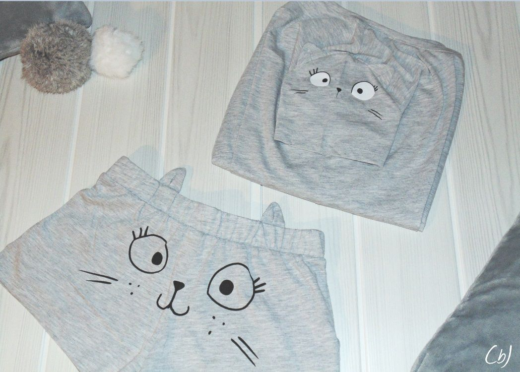 Pyjama Chat by Etam et cadeau de ma maman !