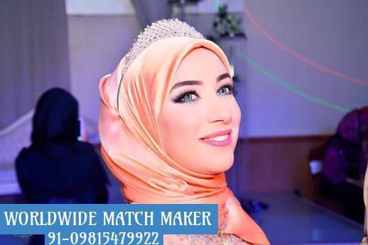 HIGH STATUS MUSLIM BRIDES &amp&#x3B; GROOM FOR MARRIAGE 91-09815479922 INDIA &amp&#x3B; ABROAD