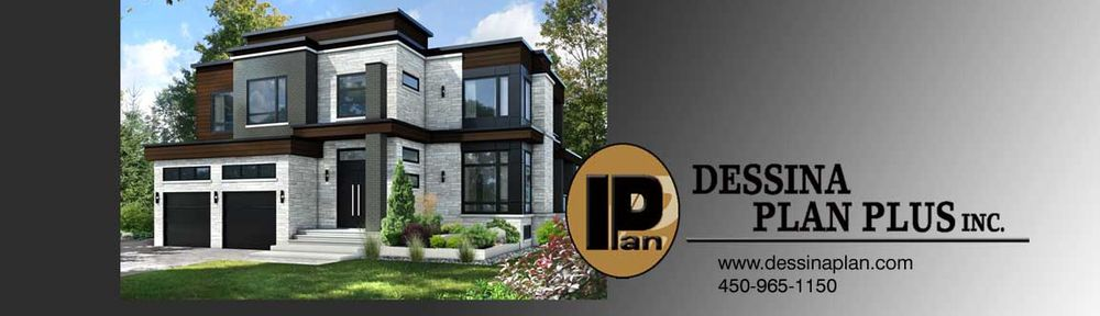 Plans vendre interg n ration dessina plan plus inc for Plan contemporain
